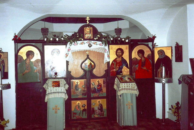 Iconostasis, Orthodox Church of St Seraphim, Little Walsingham