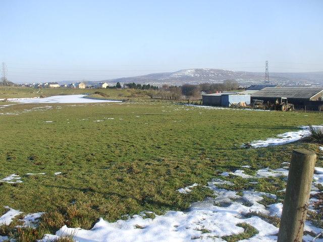 View from Big Lane, Brynmawr