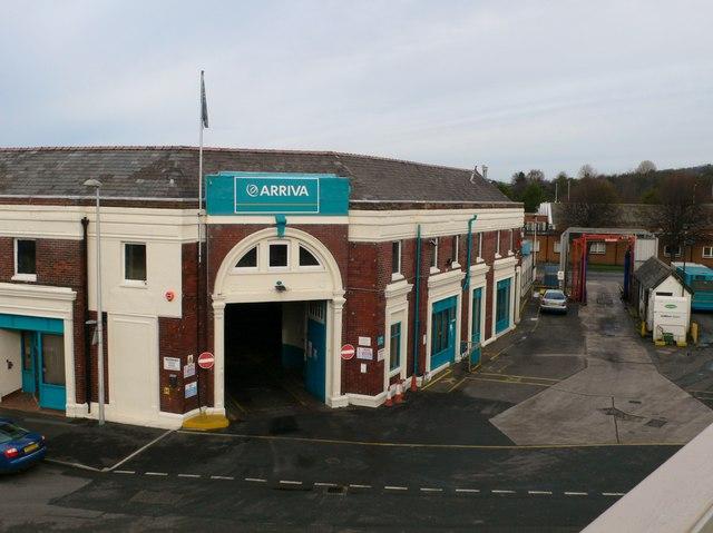 Arriva bus depot, Llandudno Junction
