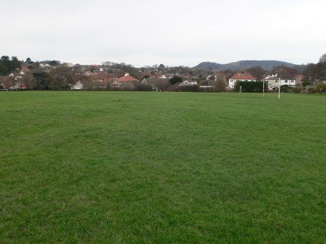 Playing field, Llandudno Junction