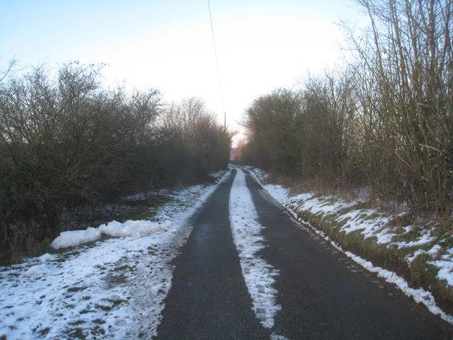 Lane near Litchfield Tunnel