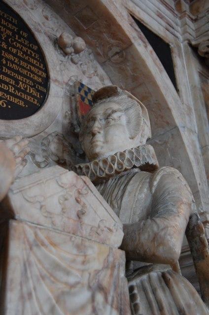 Rachel Campion, memorial, St Mary's church, Goudhurst