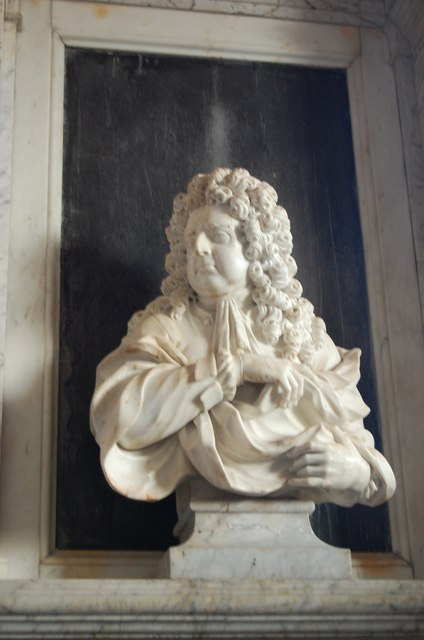 Bust of William Campion, St Mary's church