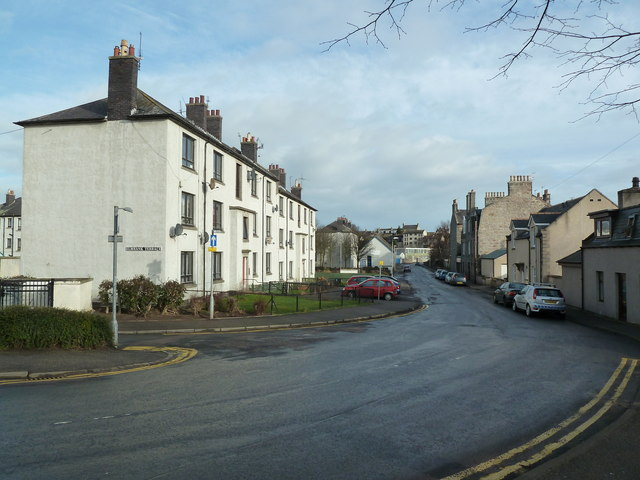 A look down Froghall Terrace, Aberdeen