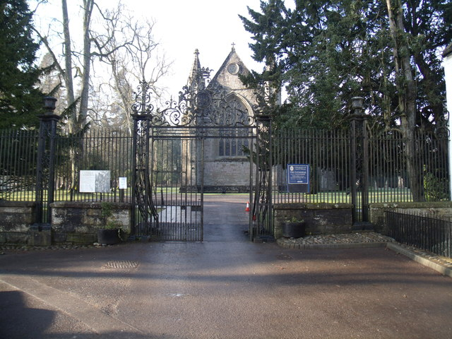 Entrance to Dunkeld Cathedral
