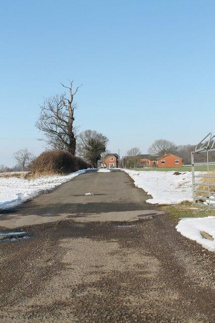 Track to Lowfields Farm