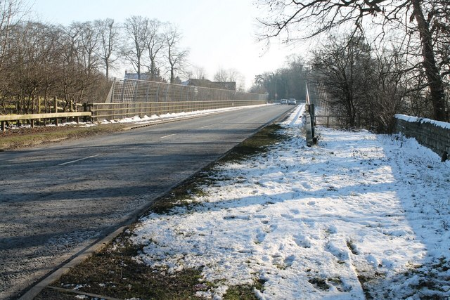 Burton Road (B1398) bridge over A46