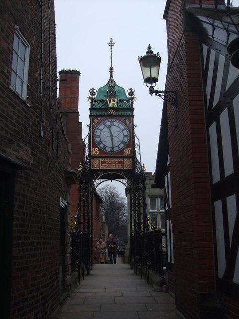 Victorian Clock Chester