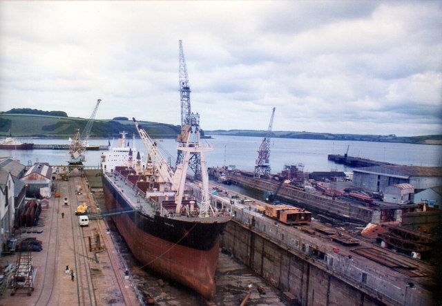Falmouth Dry Dock 1985