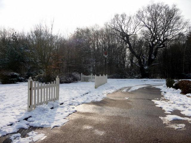 Car Park, Whitewebbs, Enfield