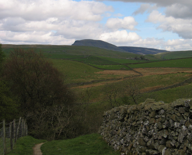 Path descending to Catrigg Force