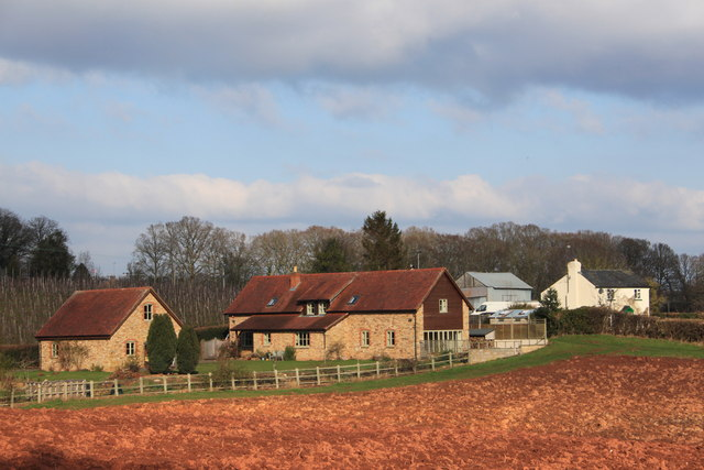 Sargant's fruit farm near Gorsley in February