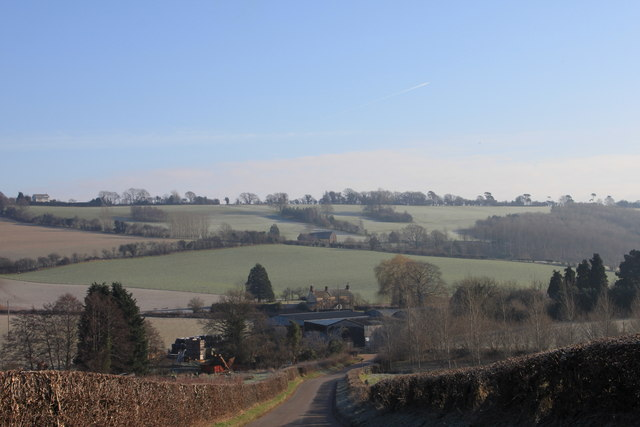 Burton hamlet from the Bromsash lane
