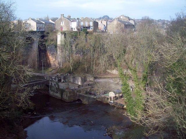The Torrs viewed from Queen's Bridge