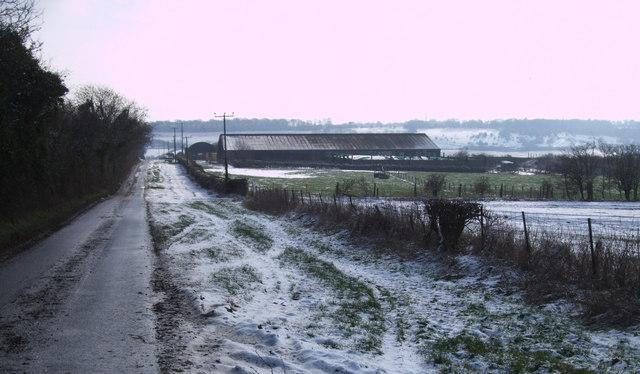 Farm buildings near Mildenhall