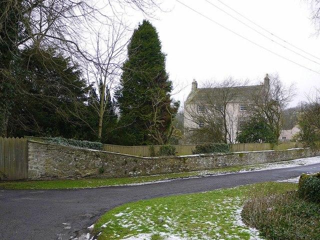Hawkwell House from Dark Lane