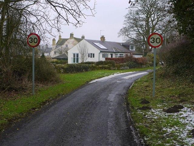 Dark Lane, Hawkwell