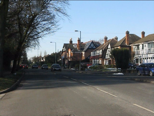 Solihull - Streetsbrook Road at Woodlea Drive