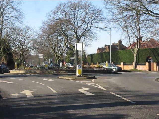 Streetsbrook Road - Prospect Lane roundabout
