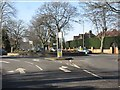 SP1280 : Streetsbrook Road - Prospect Lane roundabout by Peter Whatley