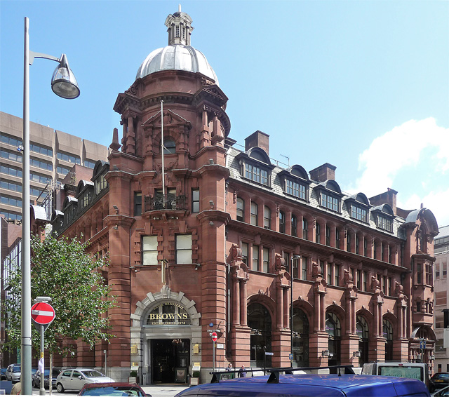 Former Parr's Bank, Spring Gardens, Manchester