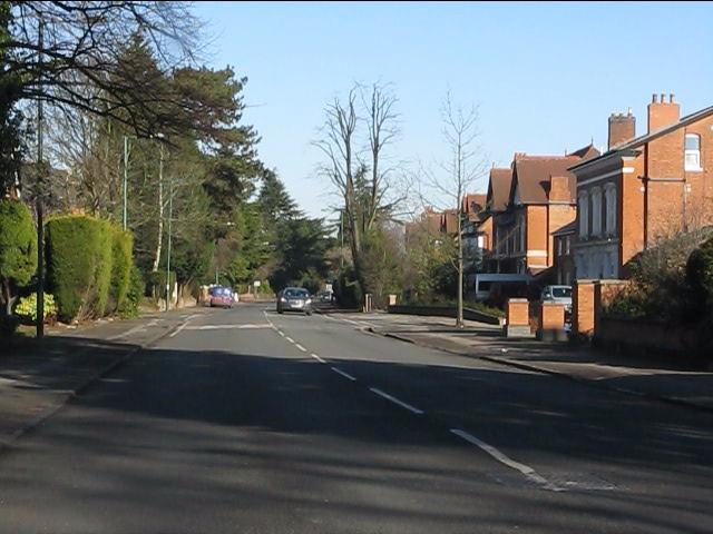 St Bernards Road at Mereside Way (northern end)