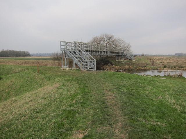 Footbridge over Braham Dock