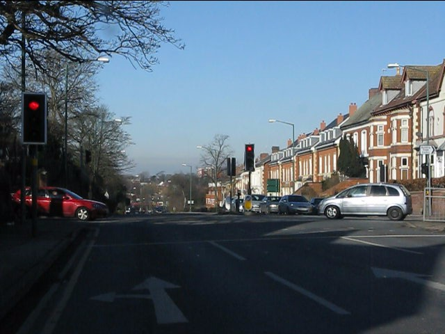 Warwick Road (A41) - St Margaret's Road traffic lights