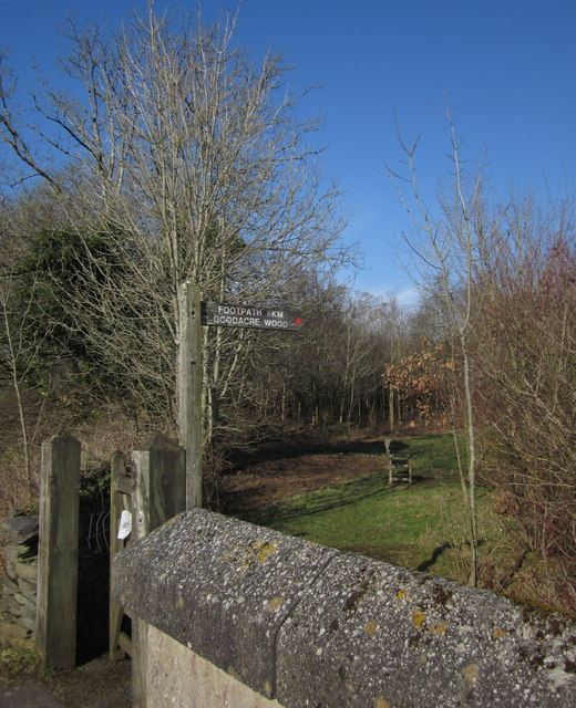 Footpath to Goodacre Wood