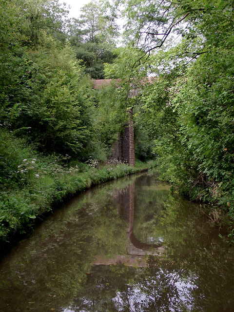 In Woodseaves Cutting south-east of Market Drayton, Shropshire