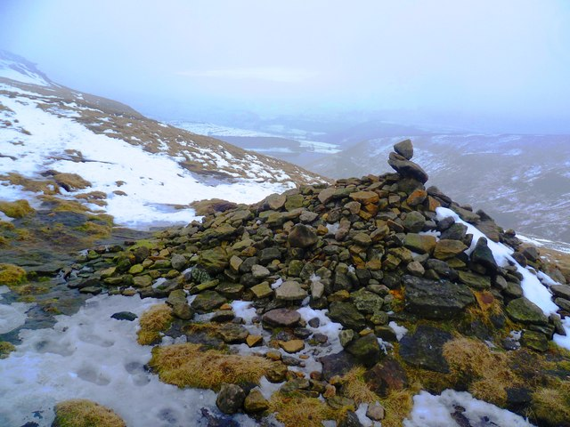Cairn at North West End of Kinder Scout