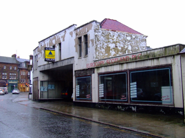 Old building on Dalblair Street
