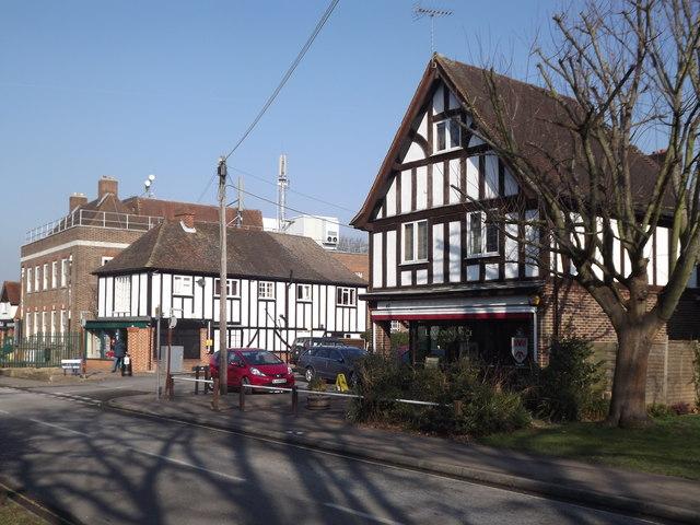 Great Bookham, Mock Tudor