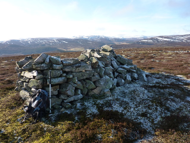 On top of Geal Charn