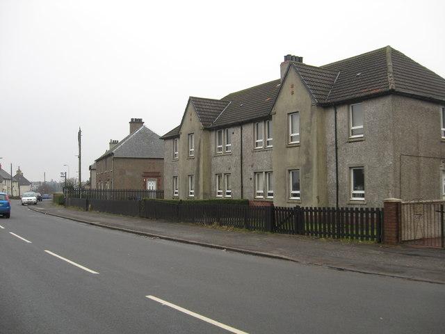 Housing at Wattson in North Lanarkshire