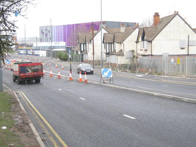 Longbridge Lane - new and old