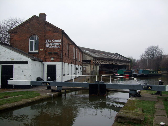 Chester Canal Warehouse Workshop