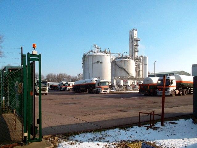 Air Products' Yard
