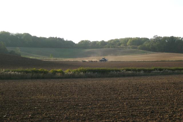 Ploughing and harrowing, Upper Wawensmoor