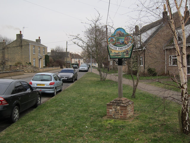 Little Thetford village sign