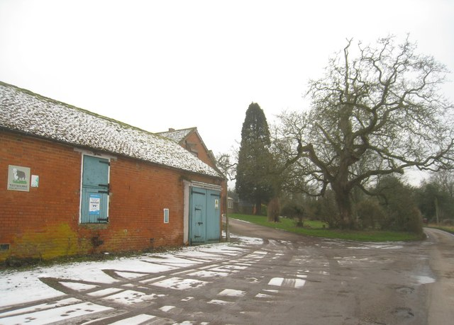 Entrance to Vale Farm