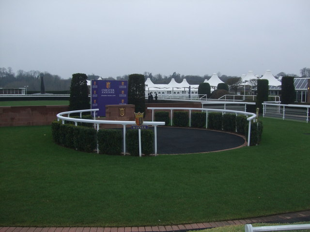 Winners enclosure Chester Racecourse