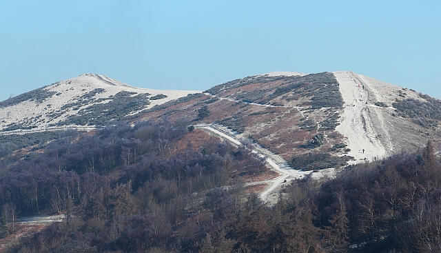 Pinnacle Hill with a dusting of snow