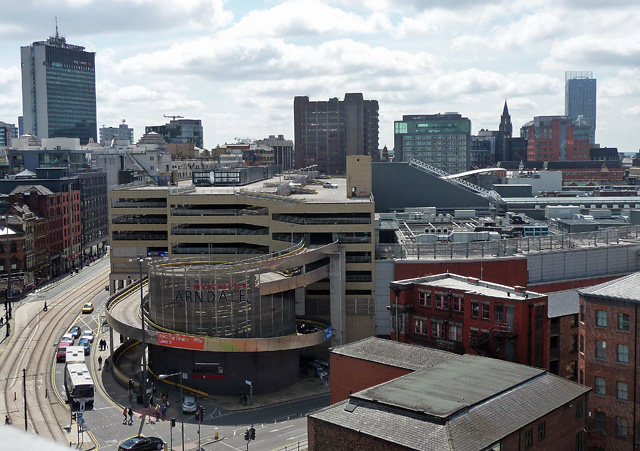 View from Hanover Street, Manchester (2)