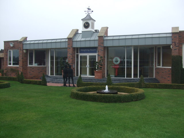 Weighing room Chester Racecourse