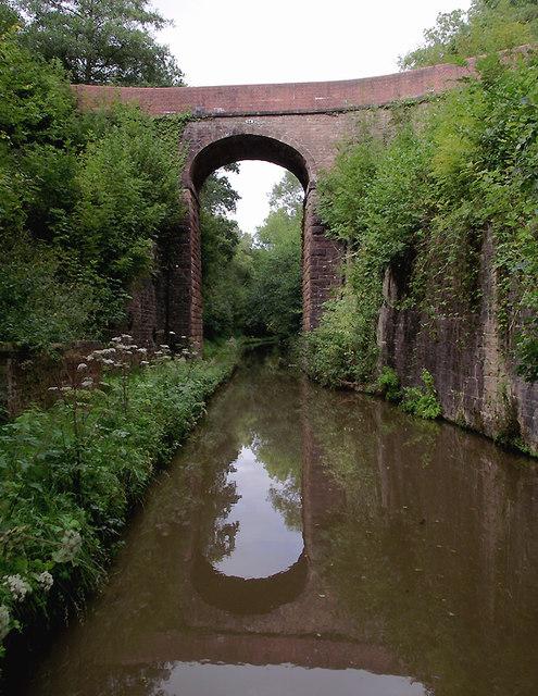 Holling's Bridge south-east of Market Drayton, Shropshire