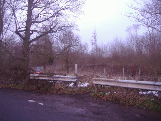 Entrance to Home Wood, Redmans Lane