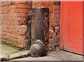 J3374 : Corner protection, Belfast (8) by Albert Bridge
