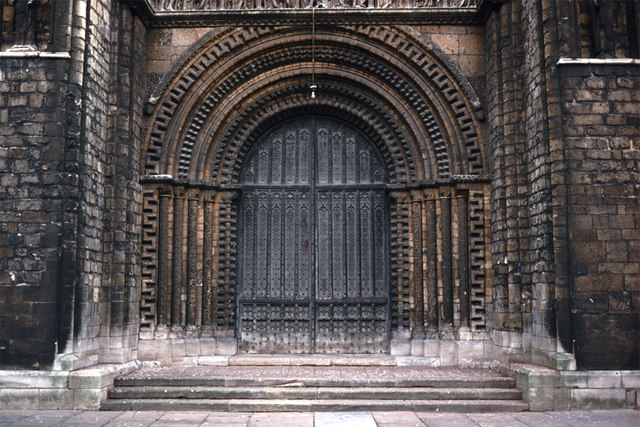 Lincoln Cathedral - Central West Door