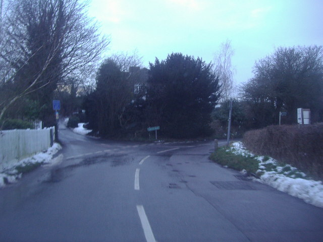 Junction of Rocks Hill and Jubilee Road